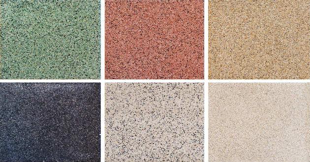 Qu estilos de pisos puedes utilizar en tu casa for Colores de granito verde